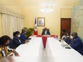 iciHaïti - Patrimoine : Importante réunion avec le Premier Ministre