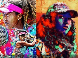 iciHaiti - Culture : 2nd Edition of «Street art for women» dedicated to Naomi Osaka