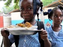 iciHaïti - Cantines scolaires : Bientôt 50% des élèves bénéficiaires
