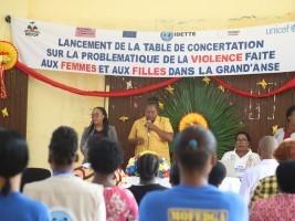 iciHaiti - Jérémie : Launch of the round table against gender violence