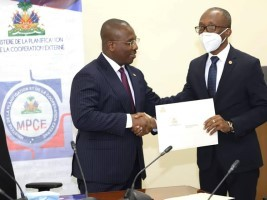 iciHaïti - Politique : Installation du nouveau Ministre a.i. de la Planification