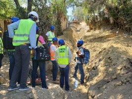iciHaiti - Hinche : Monitoring of the work of the drinking water supply system