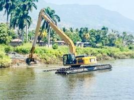 iciHaïti - Nord : Travaux de curage et de reprofilage de la rivière Haut du Cap