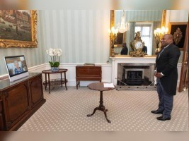 iciHaiti - London : A first at Buckingham Palace with the Ambassador of Haiti