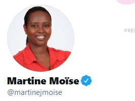 iciHaiti - Politic : The Twitter account of the First Lady of Haiti hacked
