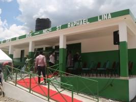 iciHaïti - Saint Raphael : Inauguration du Centre de Santé Bois-Neuf