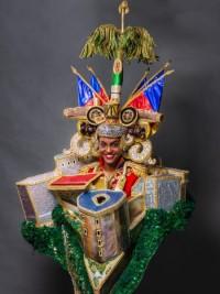 iciHaiti - Culture : The Costume of Miss Haiti unveiled