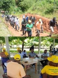 iciHaiti - Agriculture : Minister Sévère's tour in Grand-Anse