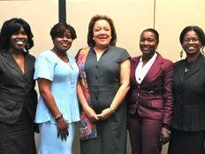 Haïti - Politique : Sophia Martelly, rencontre les femmes Députées