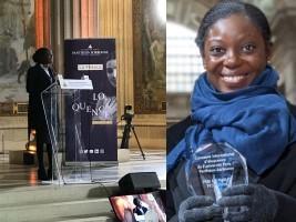 Haïti - Concours international d'éloquence : Rose Lumane, remporte le Prix du Public (réactions)