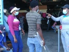 iciHaiti - Dajabón : The Covid under close surveillance at the binational market