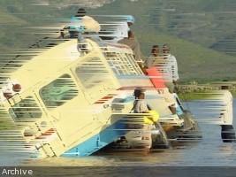 iciHaïti - Belladère : Un véhicule de transport en commun emporté par les eaux de la rivière Lagua