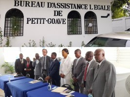 iciHaiti - Petit-Goâve : Inauguration of the Legal Assistance Office