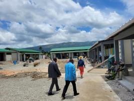 Haïti - Éducation : Tournée de chantiers du aMinistre Cadet dans les Nippes