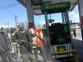 iciHaïti - Insécurité : Les gangs bloquent l'accès aux terminaux pétroliers
