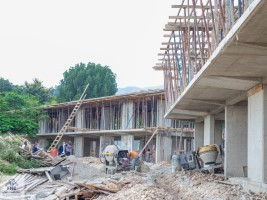 iciHaiti - FNE : Monitoring of the construction work of the Lycée de Frères (new secondary)