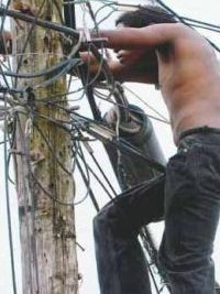 iciHaiti - Justice : Resurgence of cases of theft of electricity
