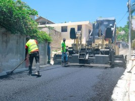iciHaiti - Delmas 75 : Road infrastructure works