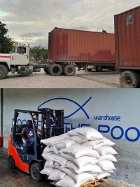 iciHaiti - ELSA : Food For The Poor sends 10 containers of aid to the South