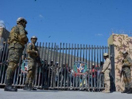 Haiti - DR : Luis Abinader closes the border with Haiti and convenes the military commanders