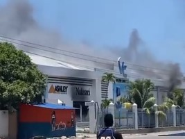 ici-Haiti - Quartier-Morin : More than $2MM losses following the looting and the burning of Valerio Canez