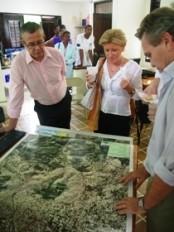 Haiti - Environnement : Visite officielle au parc de Martissant