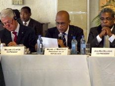 Haiti - Reconstruction : The IHRC at the time Martelly