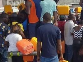 iciHaïti - Politique : Interdiction de vente et d'achat des produits pétroliers en gallon...