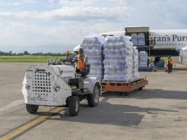 iciHaïti - Humanitaire : Des avions d'aide humanitaire continuent d'arriver au pays chaque jour