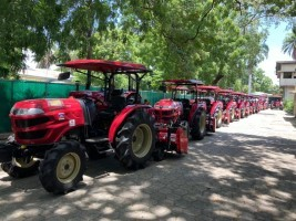 iciHaïti - Agriculture : Don de 22 tracteurs du Japon