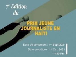 iciHaïti - OIF : 7ème édition du Prix jeune journaliste en Haïti, inscriptions ouvertes