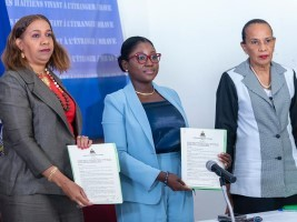iciHaiti - MHAVE : Signature of an agreement with the «Haitian Diaspora Resources Word Wide»