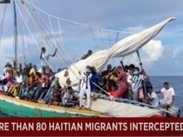 iciHaiti - USA : More than 80 Haitian migrants intercepted 18 miles east of Biscayne Bay