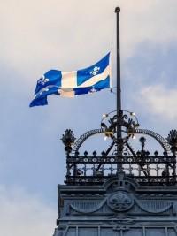 iciHaïti - Québec : Le drapeau mis en berne au Parlement Québécois