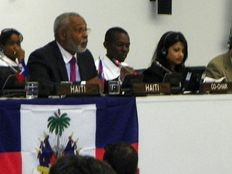 Haiti - Politics: High-level meeting at the UN with young Haitians