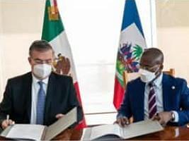 iciHaïti - Formation Diplomatique : Signature d'un accord de collaboration académique avec le Mexique