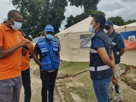 iciHaiti - Pestel : Towards the upcoming closure of Mexican mobile hospital