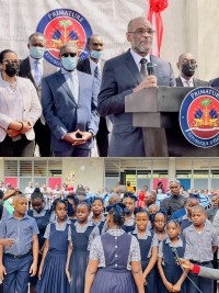 iciHaiti - Politic : Prime Minister Henry launches the school year