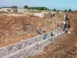 iciHaïti - RD : Reprise des travaux du canal d'irrigation de la Rivière Massacre