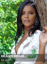 iciHaïti - Social : Erlande Berger élue Miss World Haïti 2021