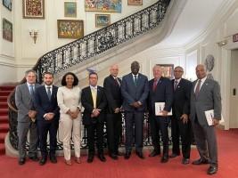 iciHaïti - Washington : Réunion de l'ADIH avec l'Ambassadeur d'Haïti Bocchit  Edmond
