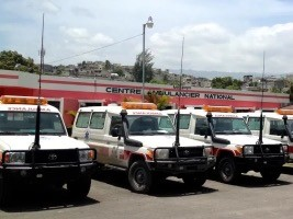 iciHaïti - Santé : Bilan du Centre Ambulancier National (septembre 2021)
