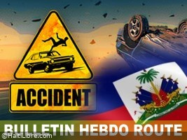 iciHaiti - Weekly road report : 28 accidents at least 99 victims