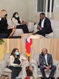 Haiti - Politic : Uzra Zeya, Under Secretary of State for Security, increases the number of meetings in Haiti