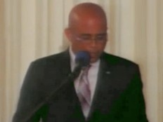 Haiti - Technology : Speech of Martelly, «Technology Week»