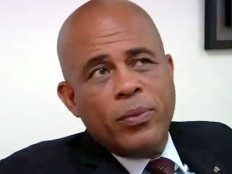 Haiti - Politic : Remarks of President Martelly on the political crisis