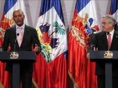 Haiti - Chile : Martelly would like that the Minustah become a development mission