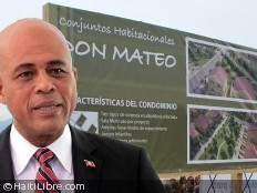 Haiti - Reconstruction : Martelly has visited housing projects