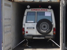 Haiti - Health : 30 ambulances and 360 tons of medicines, donation of Brazil