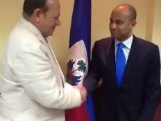 Haïti - Diplomatie : Laurent Lamothe parle de coopération avec l'Ambassadeur du Maroc